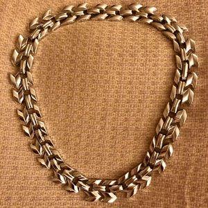 Gorgeous Silver Link Choker